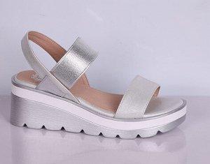 L0145-01-2 белый (Иск.кожа/Иск.кожа) Туфли летние открытые женские 10п