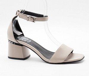 L35-8537-2-3 молочный (Иск.кожа/Иск.кожа) Туфли летние открытые женские 10п