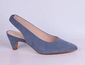 L0097-01-9А голубой (Т/Иск.кожа) Туфли летние открытые женские 10п