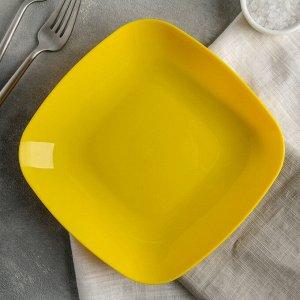 Тарелка 19 см, цвет МИКС