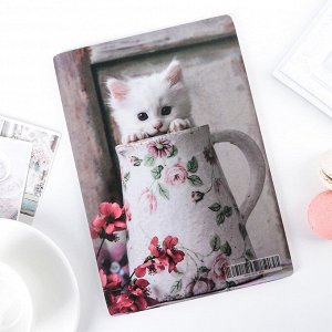Доска разделочная «Котенок в кружке», 23?16 см