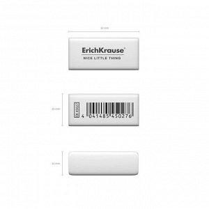 Ластик Erich Krause, NICE LITTLE THING, 32 х 15 х 12 мм, средней жёсткости, гипоаллергенный