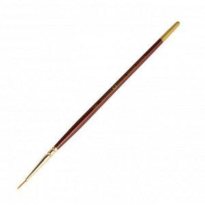 Кисть Decola № 00, синтетика, круглая, d=1.2 мм