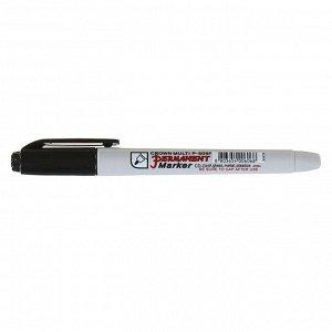 "Маркер перманентный 1.0 мм Crown ""Multi Marker Super Slim"", черный, пулевидный"