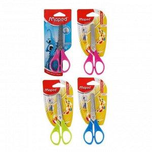 Ножницы детские, 13 см, Essentials, симметричные, блистер, МИКС