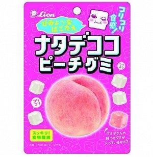 Жевательные конфеты со вкусом персика, пакет, 44гр.