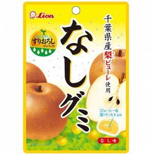 Жевательные конфеты со вкусом груши с мягкой начинкой, пакет, 40гр.