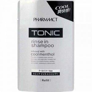 Шампунь тонизирующий 2 в 1 для мужчин  Pharmaact (сменная упаковка) 400 мл/