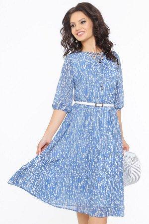 Платье Чувство прекрасного, бриз, с ремешком