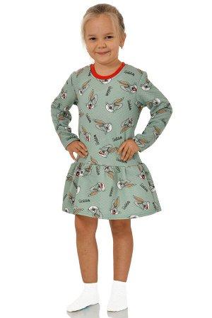 Платье Материал: Капитоний Состав: 100% хлопок, наполнитель -100% п/э Цвет: Мятный