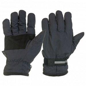 Перчатки Эксклюзивные перчатки с фиксатором и черными вставками на ладонях   - отличная осенне-зимняя модель, теплая и прочная №1008
