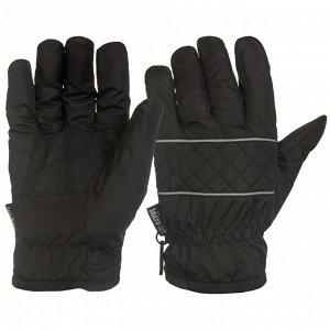 Перчатки Зачетные темно-серые перчатки   - теплые, удобные, с усилением ладони №1016