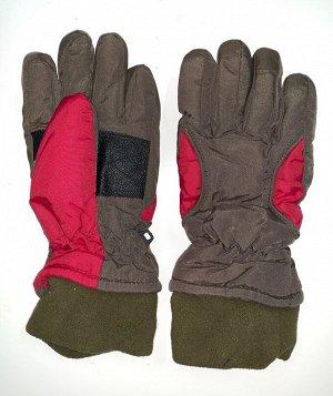 Перчатки Теплые детские перчатки с манжетами  №4478