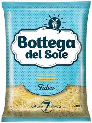 Вермишель Макароны из отборных мягких и твёрдых сортов алтайской пшеницы. Макароны группы В. Пшеницу для макаронных изделий собственной торговой марки Bottega del Sole «KDV-Агро» выращивает на бескрай