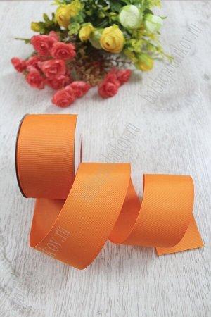 Лента репсовая 5 см (оранжевый №24) SF-1350