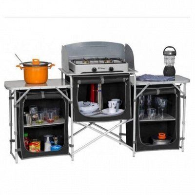 ❤️ Палатки, Столы, Стулья -129❤️ Готовимся к жаркому сезону! — Кухонные наборы  — Кухни и кемпинговая мебель