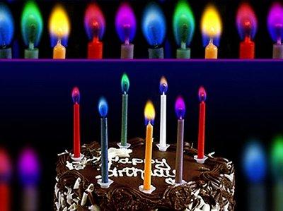 Канун праздника лучше самого праздника - 13. Новинки!  — Свечи для торта, хлопушки — Праздники