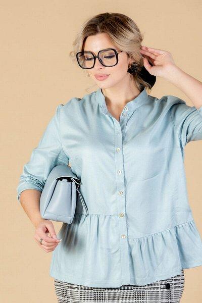 Eliseeva Olesya вся линейка от 42 до 58 размер — Блузки ELISEEVA size plus — Рубашки и блузы