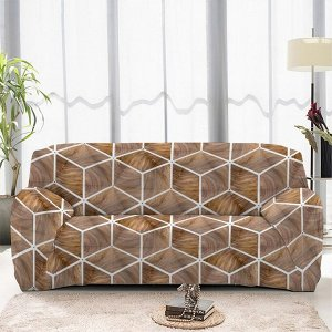 Чехол на диван трехместный ЧХТР071-13337, 195-230 см                              (s-104764)