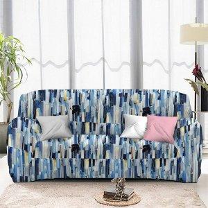 Чехол на диван трехместный ЧХТР071-13367, 195-230 см                              (s-104766)