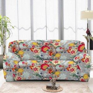 Чехол на диван трехместный ЧХТР071-16906, 195-230 см                              (s-104786)