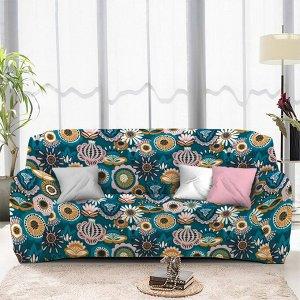 Чехол на диван трехместный ЧХТР071-16888, 195-230 см                              (s-104768)
