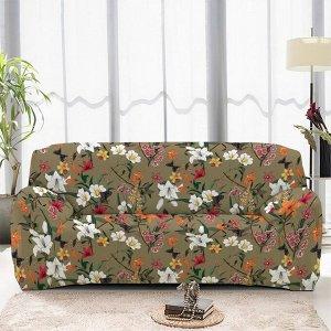 Чехол на диван трехместный ЧХТР071-16890, 195-230 см                              (s-104770)