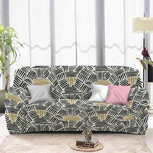 Чехол на диван трехместный ЧХТР071-16893, 195-230 см                              (s-104773)