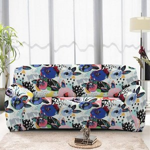 Чехол на диван трехместный ЧХТР071-16894, 195-230 см                              (s-104774)