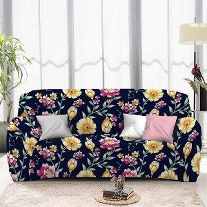 Чехол на диван трехместный ЧХТР071-16896, 195-230 см                              (s-104776)