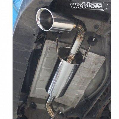 EXHAUSTмания - выхлопные системы для любого авто. Насадки — Выхлопная система Subaru XV / Impreza GP — Для авто