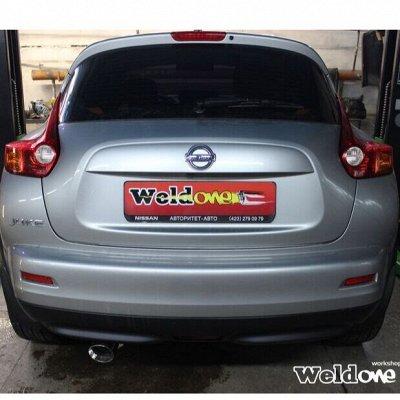 EXHAUSTмания - выхлопные системы для любого авто. Насадки — Выхлопная система Nissan Juke FWD — Для авто