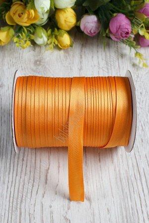 Бейка косая 1,5 см*90 ярд (оранжевый) 8021
