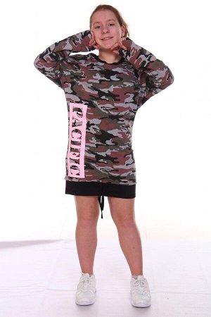 Платье Характеристики: Состав-хлопок 59%, пэ 36%, лайкра 5%. Оцените платье модного и оригинального покроя. Особенности модели: спущенное плечо, контрастная отделка по низу изделия дополненная шнуром,
