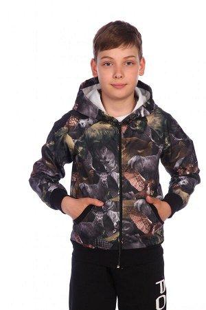 Ветровка Материал: курточная ткань Ветровка для мальчиков сшита из водонепроницаемой ветрозащитной курточной ткани. Капюшон регулируется шнурком с фиксатором. Манжеты и пояс ветровки плотно облегают,