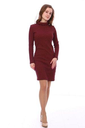 Платье Характеристики: 50% п\э, 45% хлопок,5% лайкра; Материал: кашкорсе Стильное платье, идеально сидит по фигуре! Можно дополнить аксессуарами и будет вечерний образ!