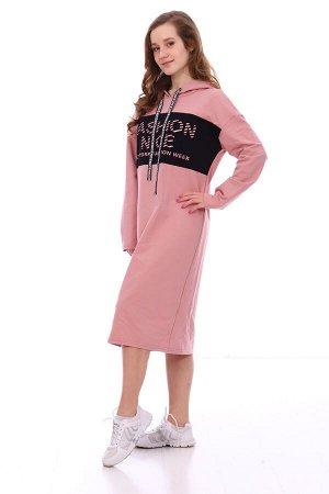 Платье Характеристики: Состав- хлопок 72%, пэ 20%, лайкра 8%; Материал: футер с лайкрой Стильное платье в спортивном стиле на весну! На моделе представлен модный лук этого года. Платье идеально подход