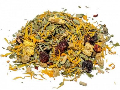 Красивая выпечка. Вкусный чай и кофе. Новогодние картинки. — Травяные смешанный — Чай