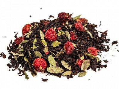 Красивая выпечка. Вкусный чай и кофе. Новогодние картинки. — Чёрный смешанный — Чай