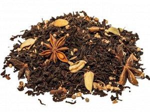 Масала Бленд крупнолистового черного индийского чая, кусочков корицы и имбиря, звездочек бадьяна, семян кориандра, кардамона и тмина, гвоздики. Обладает ярким, пряным, в меру специевым ароматом. Употр