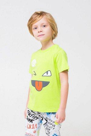 Фуфайка Количество в упаковке: 1; Артикул: CRO-К 300737/2; Цвет: Зелёный; Ткань: Супрем; Состав: 100% Хлопок; Цвет: Зелёный | Зелёный Однотонная футболка из хлопкового трикотажа супрем. Эластичная го