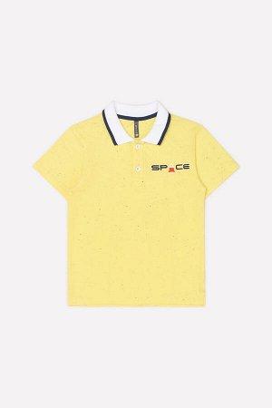 Джемпер Цвет: желтый к248; Вид изделия: Трикотажные изделия; Полотно: Супрем; Рисунок: желтый к248; Сезон: Весна-Лето; Коллекция: №248 Космический микс Однотонное поло из трикотажа супрем. Спереди за