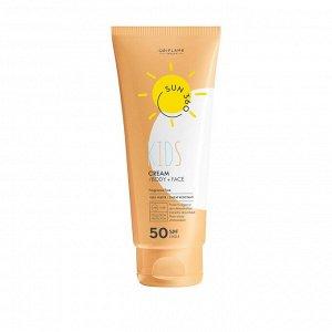 125  мл.* Детский солнцезащитный крем для лица и тела Oriflame Sun 360 с SPF 50