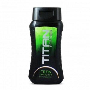 """Гель для душа  """"Titan"""" Sport energy, 250 мл"""