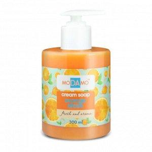 """Жидкое крем -мыло """"moDAmo"""", Апельсиновые дольки 300 мл"""
