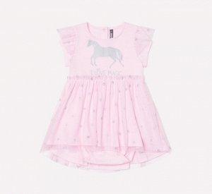 Платье для девочки Crockid КР 5609 розовое облако к233