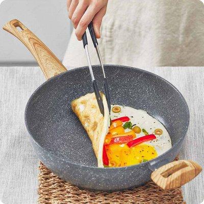 Cкидки SCOVO на каменные сковородки! — ХИТ ПРОДАЖ! Сковороды с эффектом мрамора STONE PAN — Сковороды