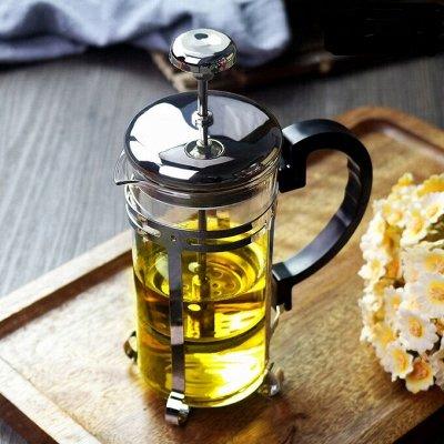 Cкидки SCOVO на сковородки!  Таких цен больше не будет! — Френч-прессы — Посуда для чая и кофе