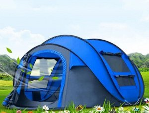 Палатка 5-местная Отлично подойдёт для отдыха на природе! - Размер 280х205х120 -Палатка 5- местная - Выполнена из высокопрочного (210D), водоотталкивающего материала (3000мм водн. ст.) , что обеспечив