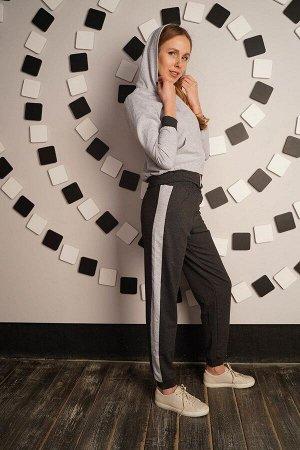 Базовый спортивный костюм - BASE - 277 - серый антрацит